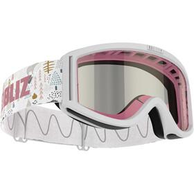 Bliz Pixie Gafas Niños, white/pink